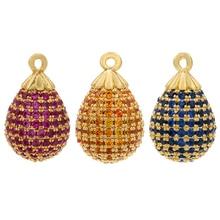 Water-Drop-Pendant Earrings Necklace ZHUKOU Bracelet Jewelry-Accessories Making Women