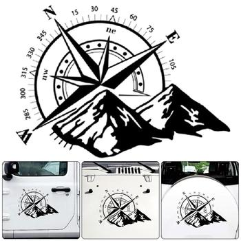 Self-adhesive Compass Pattern Car Door Body Sticker Decal Vehicle Styling Decoration Automobiles Decal Car styling 1