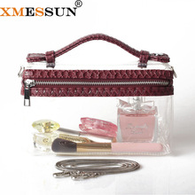 Luxury Designer Handbags Clutch-Bag Crossbody-Bag Transparent XMESSUN Totes Clear Fashion