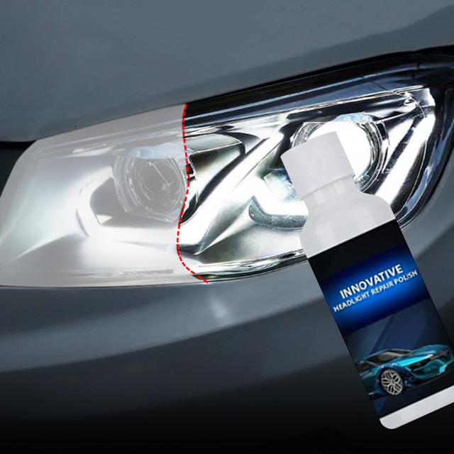 Car Headlight scratch Remover | Polishing Car Light