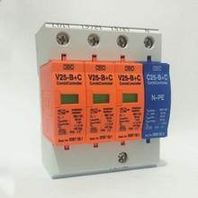 7 50KA V25 B + C/3 + NPE Scaricatore di sovratensione ~ 385V AC Combi Regolatore di Protezione Da Sovracorrente