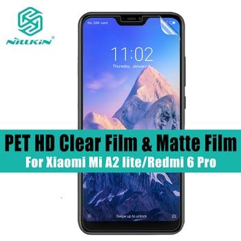 2 pcs/lot NILLKIN for Xiaomi Mi A2 lite screen protector HD Super Clear screen protector Matte Anti Glare For Redmi 6 pro