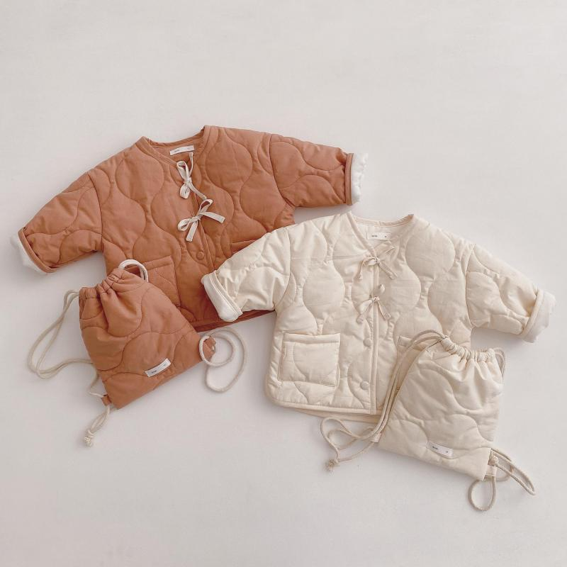 18.74US $ 50% OFF Cute Warm Winter Children Girls Coat With Backpack Kids Jacket Boys Outerwear Coat...