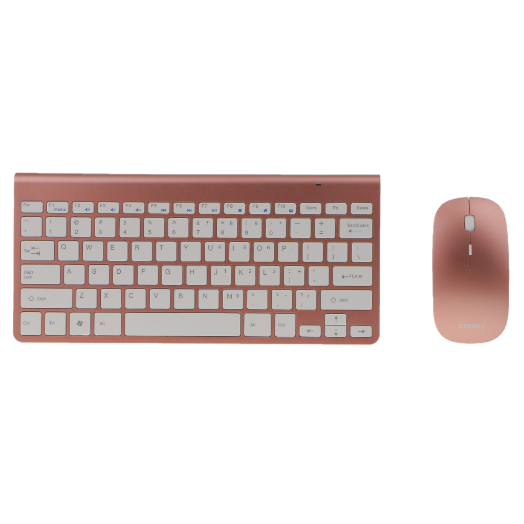 Ultra Slim 2.4G Wireless Keyboard Portable Mouse Mini Set Keyboard for IOS Android For Mac Notebook TV Box PC Office Supplies