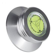 アルミ記録重量クランプ LP ビニールターンテーブル金属ディスクスタ記録のためプレーヤーアクセサリー 24BB