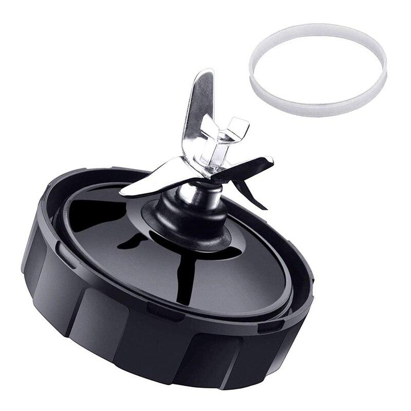 7 aletas extrator lâminas para ninja liquidificador peças de reposição com arruela borracha para nutri ninja auto iq bl486 bl642 n102 bl682 an|  - title=