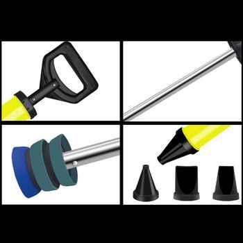 Calafetagem arma de cimento bomba cal rebocando argamassa pulverizador aplicador grout ferramentas enchimento com 4 bicos y98e