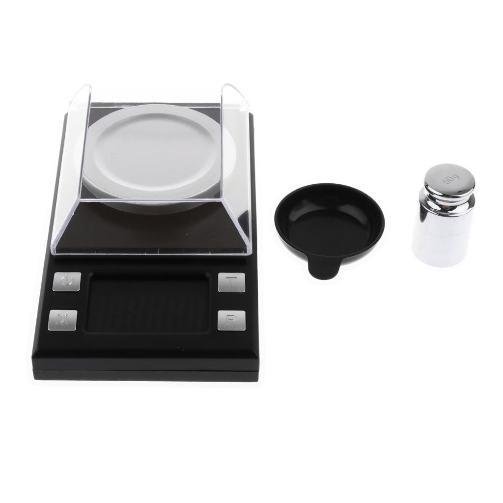 Digital Gram Scale 50 X 0.001g Reloading Jewelry Scale Digital Weight Mini LCD Pocket Lab Scale