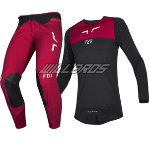 Delicate Fox Motocross Suit Flexair Royl Jersey Pant MX Dirt Bike Gear Set Black Red Kits For Men Woman Unisex