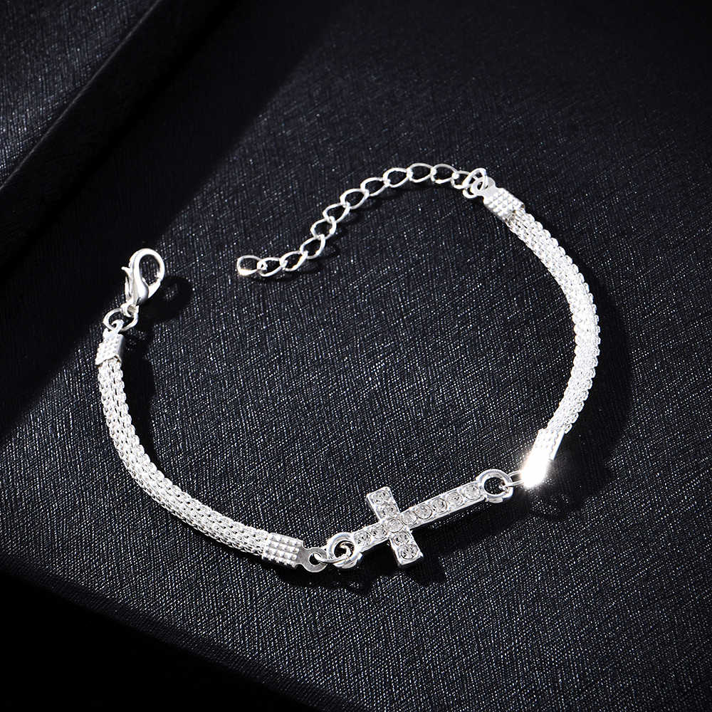 2019 nowa sowa bransoletka motyl dla kobiet Curb kubański Link Chain stal nierdzewna mężczyzna kobiet bransoletki łańcuchy biżuteria dla kobiet