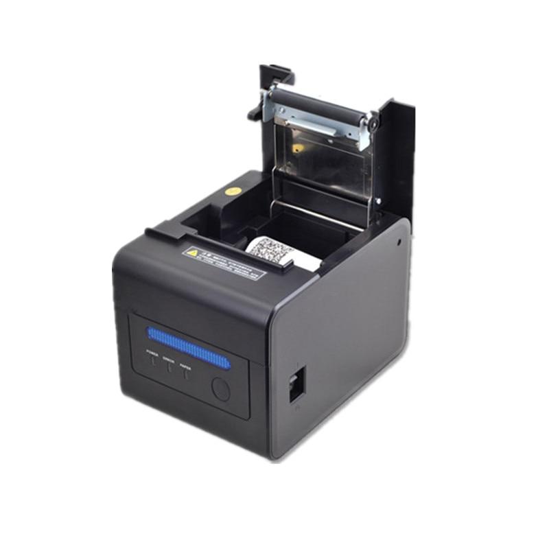 Nouveau 58mm/80mm imprimante thermique restauration alimentaire supermarché au détail POS caissier thermique reçu imprimante buzzer alarme auto coupe papier - 5
