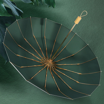 16K three folding umbrella titanium silver coating sunscreen sunny rainy dual-use women umbrella super strong windproof upf50+