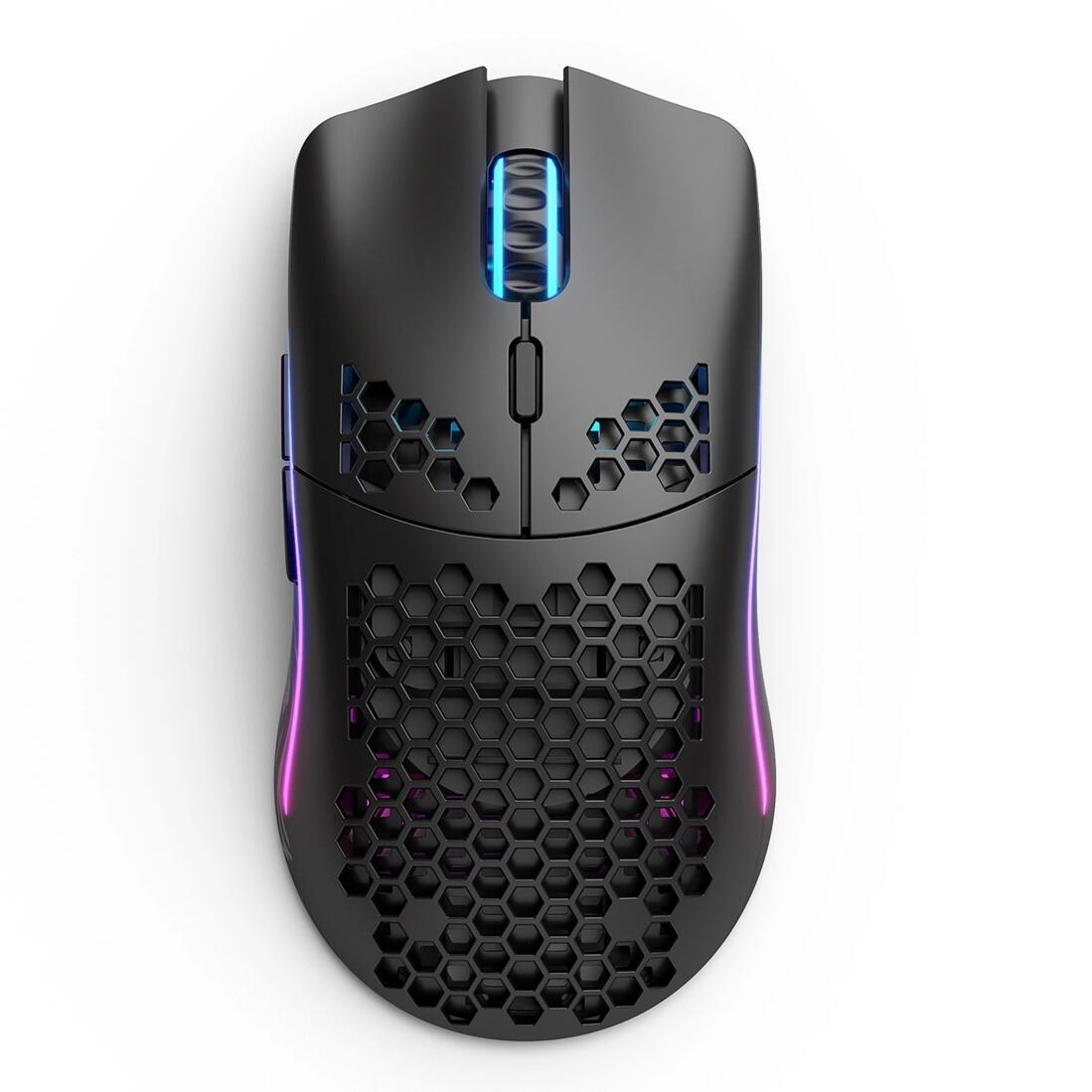 Превосходная модель O, Беспроводная игровая мышь, светильник Кая беспроводная мышь, матовый черный/белый цвет, бесплатная доставка
