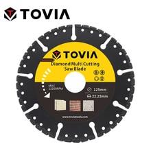 TOVIA 125mm Diamond Circular Saw blade Multi Cutting Universal Disc Multipurpose Angle Grinder Power Tool Accessories