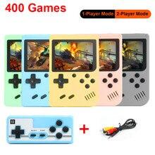 O mais atrasado jogador de vídeo do jogo da criança para crianças mini jogador de jogo handheld construído em 400 jogos 8bit 3.0 Polegada tela lcd console de jogo retro