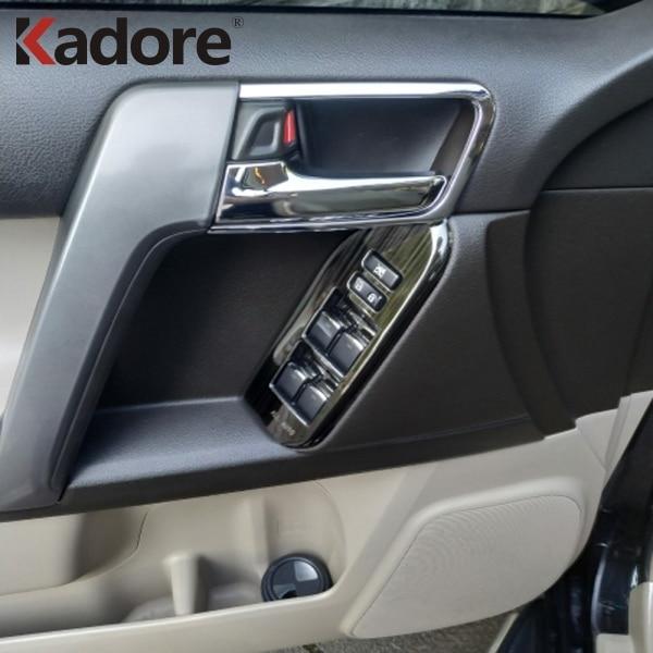 Para Toyota Land Cruiser Prado FJ 150 2014 2015 2016 Car Styling ABS - Peças auto - Foto 2