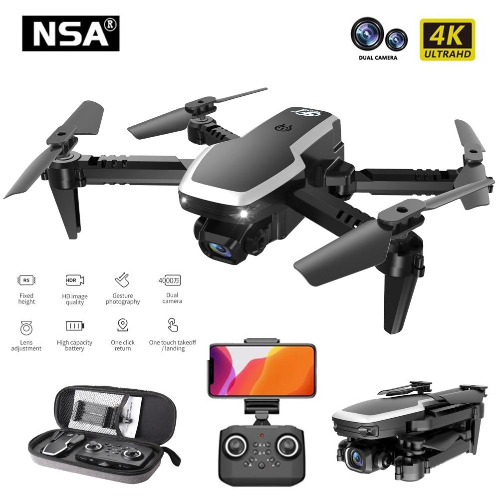 NSA S171 Pro Mini Drone With Dual Camera Wifi Fpv Drones Air Pressure Altitude Hold 4K 1080P Profenssional RC Quadcopter Dron 1