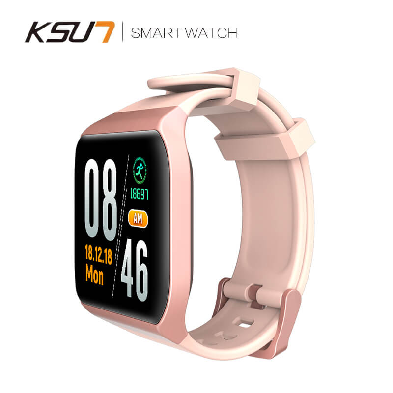 KSUN KSS901 IP68 Smart watch With Heart rate ECG and Blood Pressure Monitor for Fitness Tracking 2