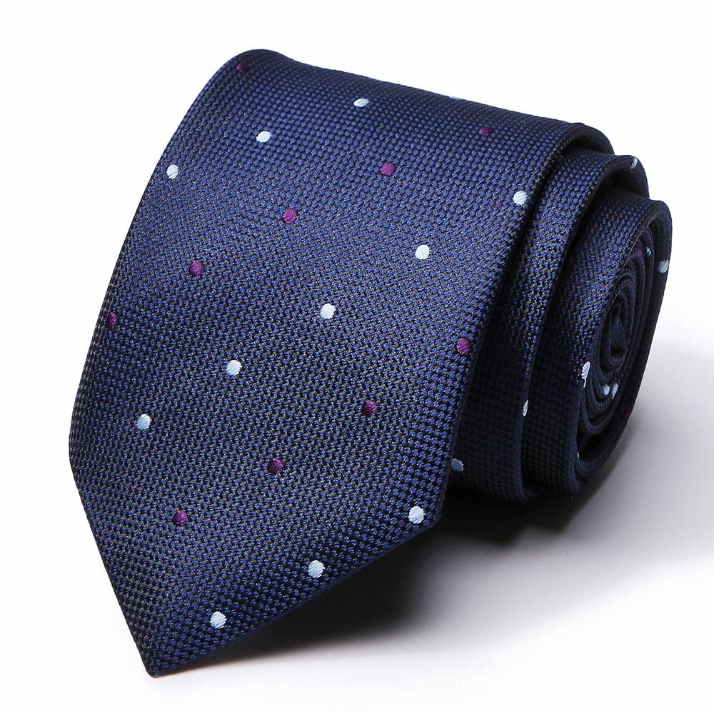 64 Colors New Style Mens Classic Ties 100% Silk Ties Blue Luxury Lattice Neckties Tie Business Wedding Necktie For Men