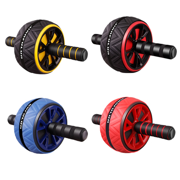 2020 New Ab Roller No Noise Abdominal Wheel Ab Roller Stretch Trainer For Arm Waist Leg Exercise Gym Fitness Equipment 1