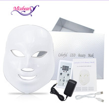 MissHeart Led Facial Mask 7 Colors  Led Korean Photon Therapy Face Mask Machine Light Therapy Wrinkle Acne Skin Care Led Mask