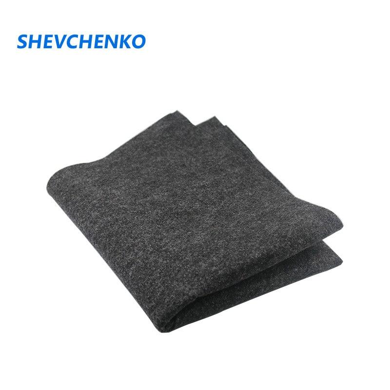Shevchenko 1Meter *0.5M Speaker Acoustic Felt Velvet Car Audio Carpet Cloth Box Sound Absorption Noise Reduction Anti-wear