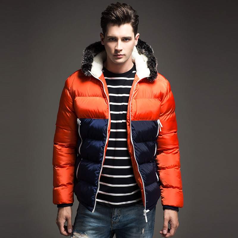 Winter Jacket Men Clothes 2020 Fashion Thick Warm Man Parka Streetwear Coat + Fur Hooded Casual Abrigo Hombre Hiver 7792