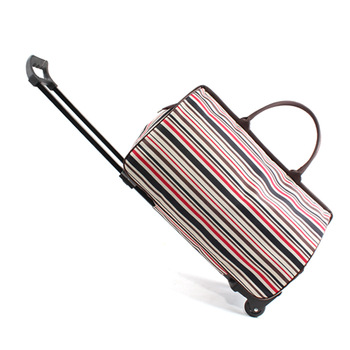 Rolling Suitcase Bag Waterproof Luggage Bag Women Men Portable Travel Carry on Bag Trolley Case Travel Luggage with Wheels