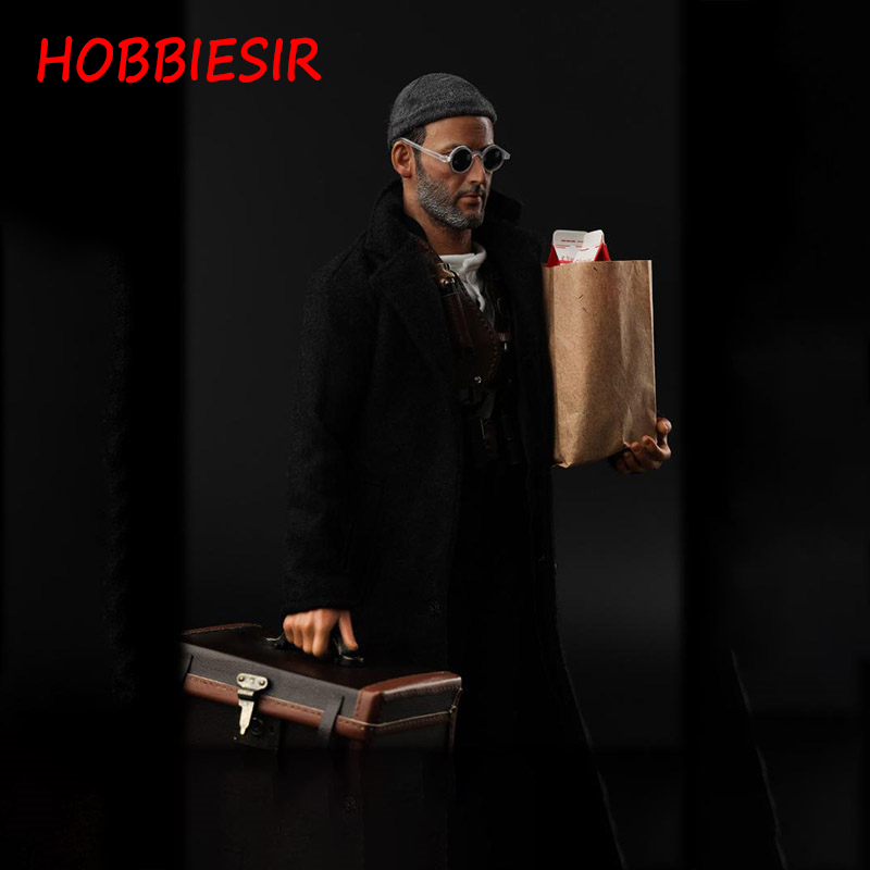 1/6 Scale This Killer Is Not Too Cold Action Figure Jean Reno Full Set Doll Ollectable Model Toy for DIY Fans Collection or Gift