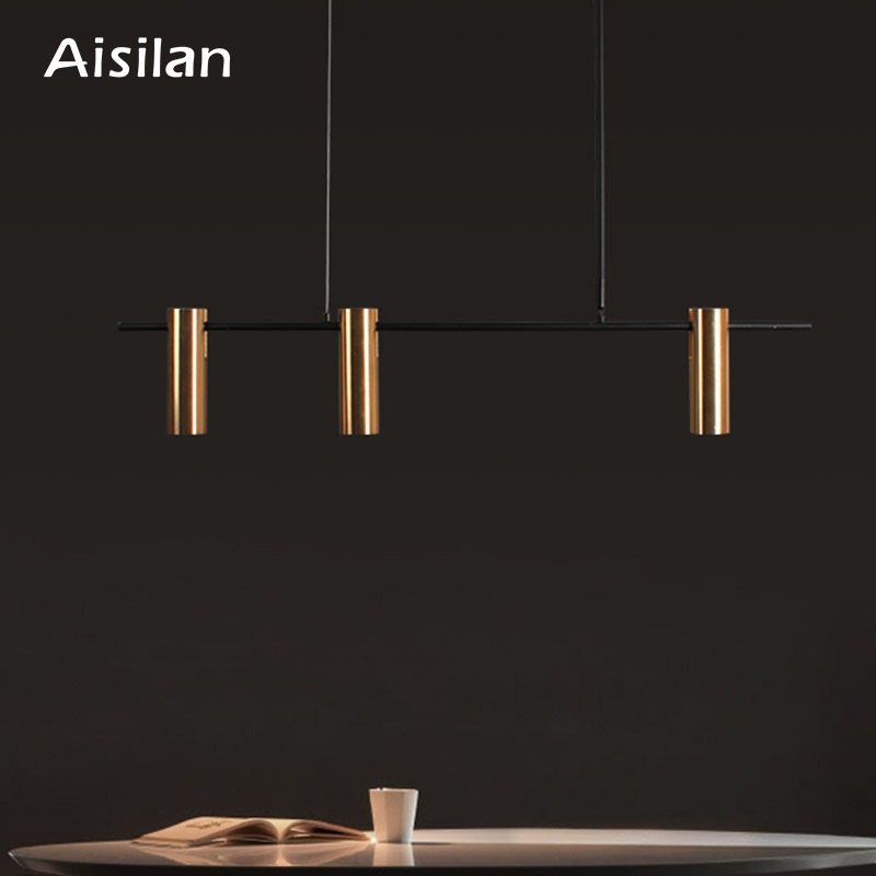 Aisilan Nordic post modern creative pendant lamp simple bar living room dining room bedroom personality Chandelier|Chandeliers|   - AliExpress