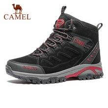 CAMEL Men Women Hiking Shoes Anti-Slip Outdoor Sport Shoes Walking Trekking Climbing Sneakers Zapatillas Comfortable Boots