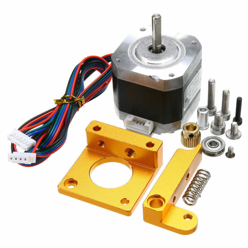 For 3D Printer Parts Extruder Kit Replacement Stepper Motor 42HD4027-01 Aluminum Lever W/ Cable Bearing For 1.75mm Filament