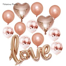 Bridal Shower wedding backdrop baloon engagement decoration balloons helium balloon Party Marriage Room Decor supplies