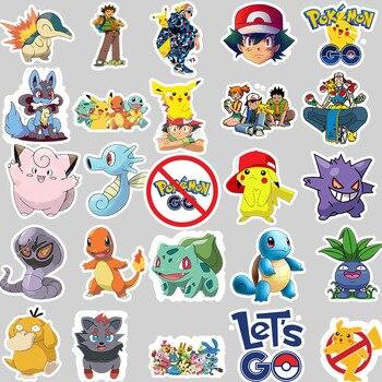 Pegatinas de pokémon de buenísima calidad(50uds) Merchandising de Pokémon