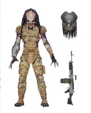 Lensple NECA Predator figure toy Hunter Predator Ultimate Emissary #2#1 7Inch PVC Action Figure Model Toys Collectible Doll Gift 18cm neca aliens action figure ricco frost private figure toy with weapon helmet alien vs predator avp model doll