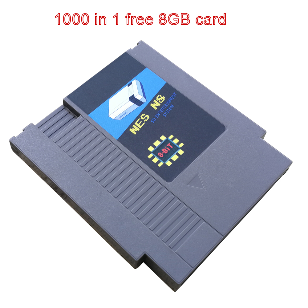 NES N8 game card retro game collection China version suitable for everdrive NES host gift 8G card
