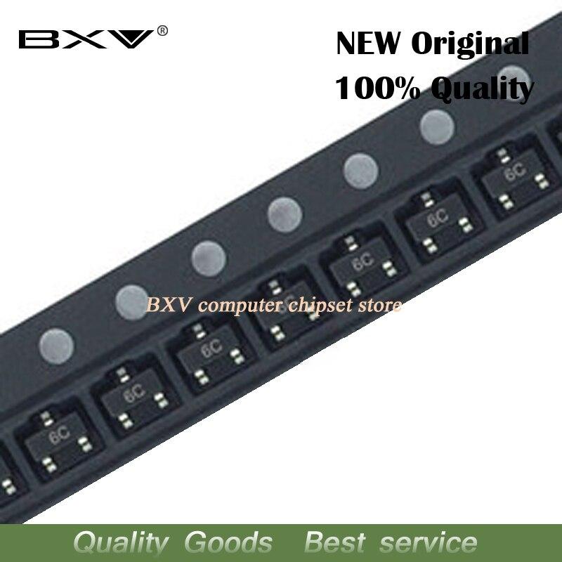 100 шт. BC817-40 SOT23 BC817 SOT 6C SMD транзистор, новый и оригинальный