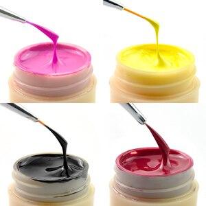 Image 4 - 60pcs * 5ml 네일 젤 컬러 바니시 잉크 CANNI 핫 세일 네일 아트 살롱 매니큐어 전체 세트 색상 LED 젤 래커 페인트 UV 젤