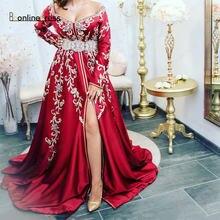Bbonlinedress красное марокканское платье caftan 2020 вечернее