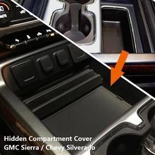 EDBETOS секретный отсек для центральной консоли для- GMC Sierra 1500 2500HD 3500HD Denali Chevy Silverado G M автомобиля