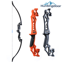 Huntingdoor Takedown Recurve Bow Right Hand with Arrow Rest and Aiming point  for Hunting Target Shooting 30-40lbs for Beginner