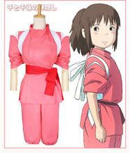 Hayao miyazaki серии аниме Унесенные призраками Косплэй костюмы