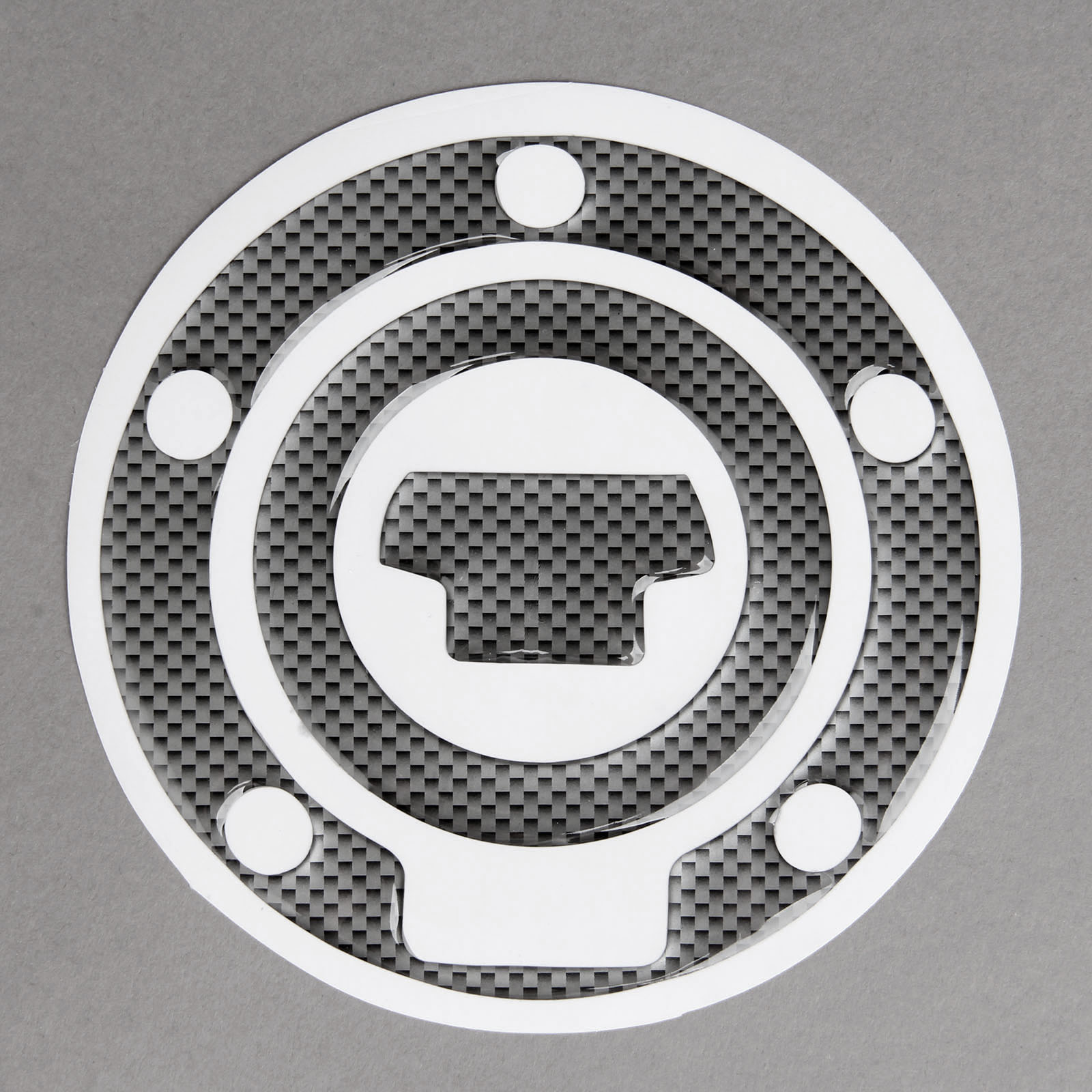 1Pcs Motorcycle Sticker Fuel Gas Cap Cover Pad Sticker Car Decal Protector For Yamaha YAMAHA R1 R6 FZ-1 FJR1300 FZ6 FZ8 FZ1 XJ6