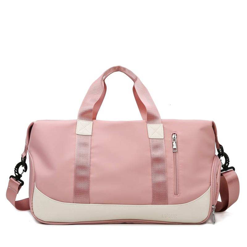 Summer Ladies Shoulder Bag Fashion Yoga Gym Bag Multifunctional Handbag Luxury Travel Organizer Large Capacity Messenger Bag