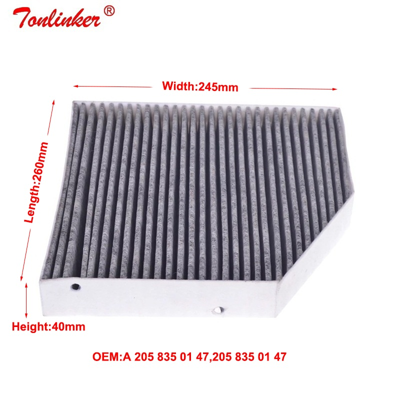 Air Filter+Cabin Filter+Oil Filter 3Pcs For Mercedes Benz C-CLASS W205 A205 C205 S205 2013-2019 C160 C180 C200 C250 C300 C350E