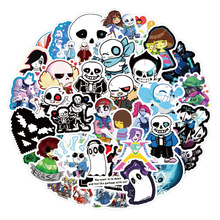 Hot-Games Lable-Sticker Computer Decal Luggage-Skateboards Kids Toy Water-Cups Cars Motorcycles