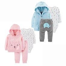 Детский костюм; осенне-зимнее пальто с капюшоном для младенцев; комбинезон; брюки; детская одежда