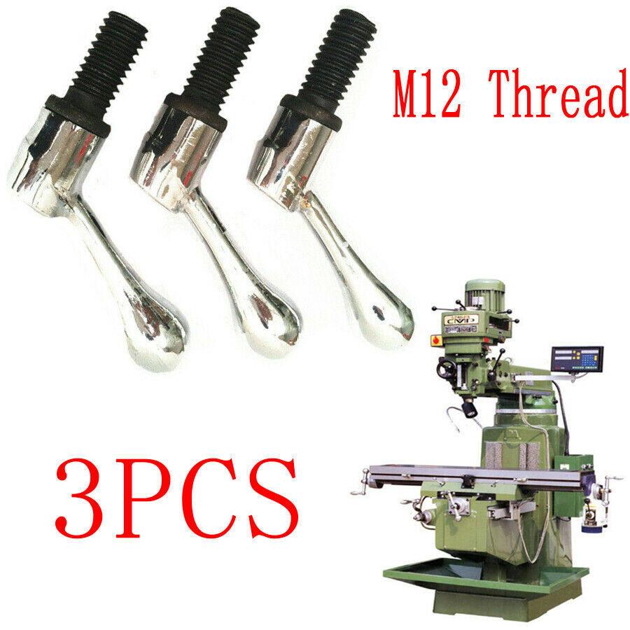 3pcs Bridgeport Milling Machine Motor Lock Handle CNC Turret Vertical Mill Tool