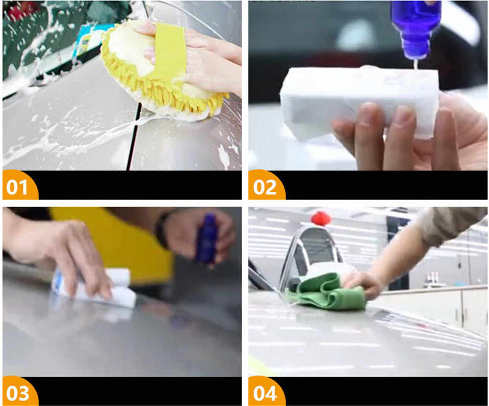 Pincel para pulidor de coches capa de vidrio súper hidrofóbico cuidado de la pintura de motocicleta detalle de cristal antiarañazos coche líquido de cerámica abrigo