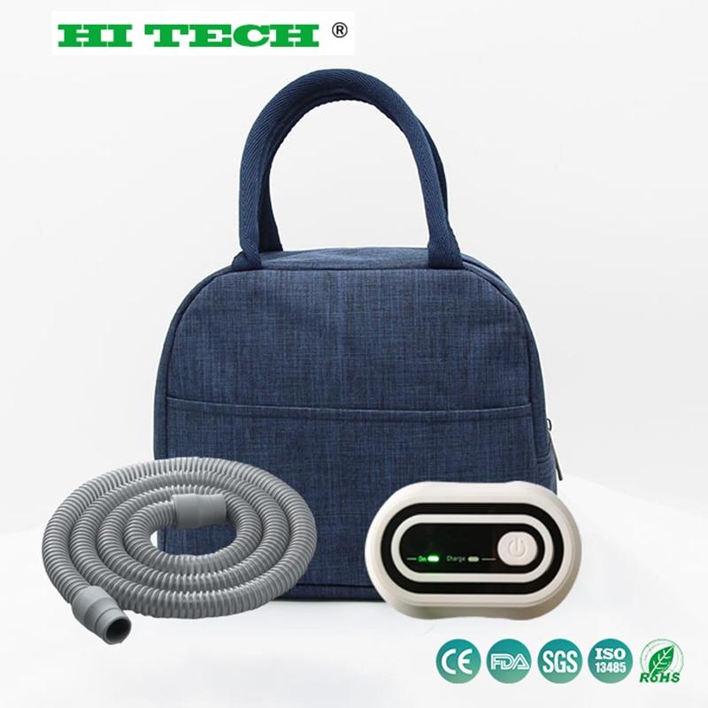 CPAP Sterilizer Cleaner Bag Aluminum Foil Liner Disinfector Respirator Sanitizer Ozone Sterilizer Apnea OSAHS OSAS With Hose